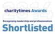 2014 charitytimes Awards Recognising leadership and professionalism - Shortlisted